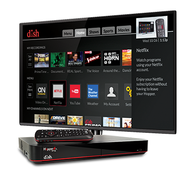 The Hopper - Voice remotes and DVR - Pittsburgh, Pennsylvania - Laketon Tv Satellite and Appliance Center - DISH Authorized Retailer