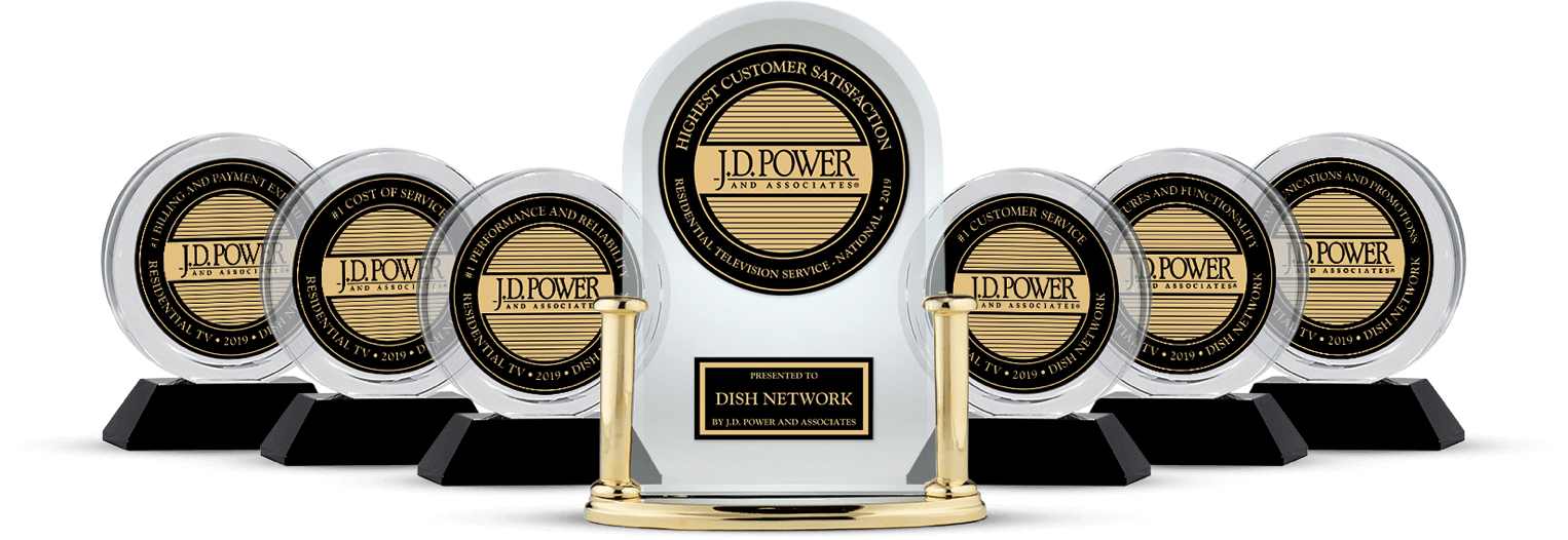 DISH Customer Satisfaction - Ranked #1 by JD Power - Laketon TV Appliance and Satellite Center in Pittsburgh, Pennsylvania - DISH Authorized Retailer